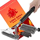 BBQ Brush Cleaner for Grill and Scraper - BBQ Vapor and Steam Grill