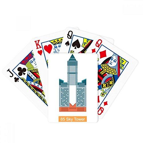 Taiwan Hotel 85 Sky Tower Poker Playing Magic Card Fun Brettspiel