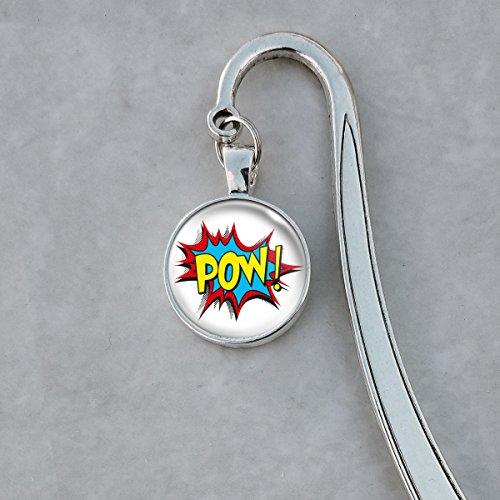 POW Comic book onomatopoeia Bookmark