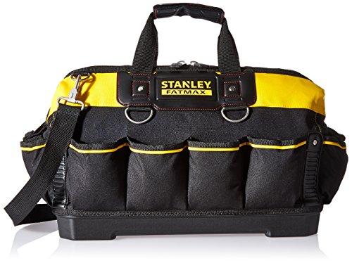 Stanley 518150M FatMax 18-inch Tool Bag, Black & Yellow