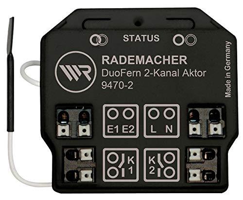 DuoFern Universal-Aktor (2-Kanal) 9470-2 - Unterputz-Funkaktor für Licht und elektrische Verbraucher
