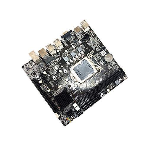 LOVSE Placa base del ordenador 1155-Pin h61 USB DDR3 placa base para Intel