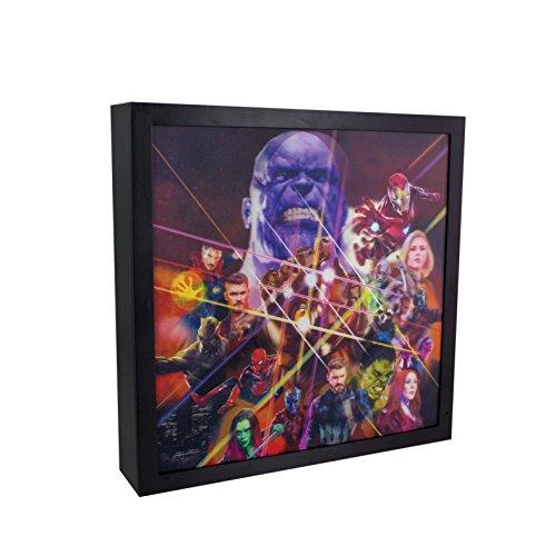Marvel Inf War 3D Luminart