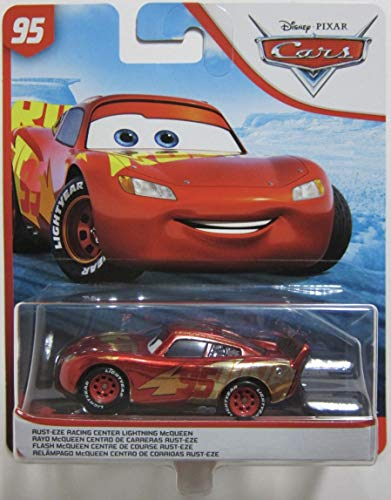DYS Pixar Cars Rust-eze Racing Center Lightning McQueen