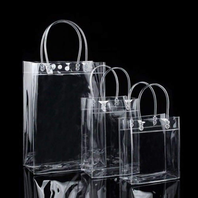 整然とした未使用啓示1st market 明確なトートバッグの友好的な財布の肩のハンドバッグポリ塩化ビニールの透明なプラスチック袋指定4耐久および有用