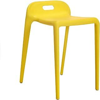 Tellgoy-Chair Sillas Comedor Sala, Cocina de diseño Moderno sillas robustas piernas PP Material, sillas taburetes para Comedor Cocina Dormitorio Office Lounge Restaurante,G,x2