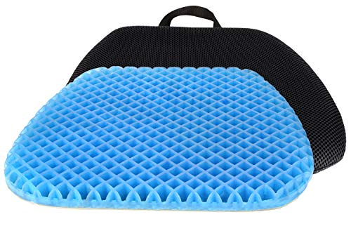 FOMI Premium All Gel Orthopedic Seat Cushion Pad for Car, Office...