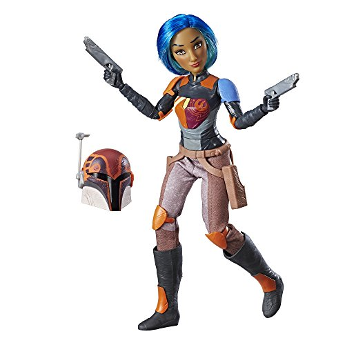 Star Wars Hasbro – c1623 Forces of Destiny – Sabine Wren – Actionfigur, 30cm