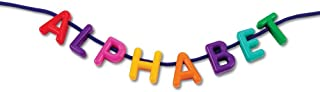 Learning Resources LER6401 Uppercase Lacing Alphabet Set (260 Piece),,Multi-color