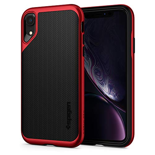 Spigen Funda Neo Hybrid Compatible con iPhone XR - Rojo