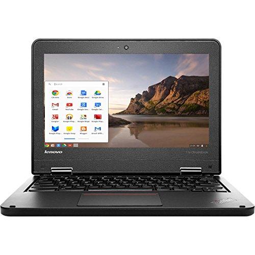 "Lenovo ThinkPad 11e 11.6"" LED Chromebook Laptop Intel Celeron N2930 Quad Core 1.83GHz 16GB 4GB (Renewed)"