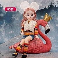 12インチ22関節式BJD人形30cm1.6メイクは目を閉じることができます人形女の子ファッション服おもちゃ新しい