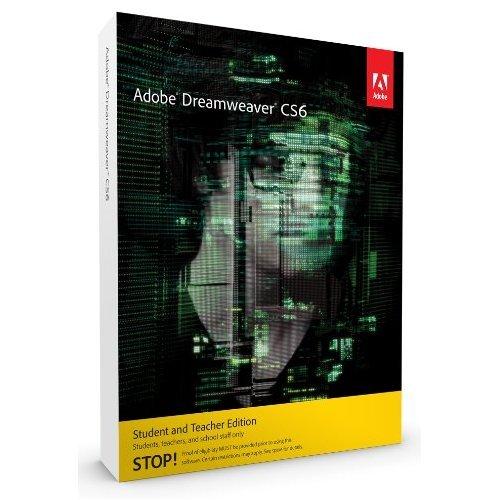 Adobe Dreamweaver CS6 [Mac] (version complète réservée aux étudiants et enseignants)
