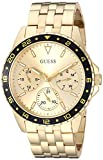 GUESS Women's Japanese Quartz Watch with Stainless Steel Strap, Gold, 40 (Model: U1187L1)