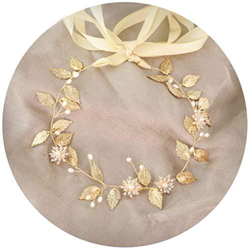Star Nupcial Vintage Cristal Perlas Vid Diadema Tiaras Tocado De Pelo De La Boda Accesorios/Bridal Pelo Accesorios De Hoja De Perla Pelo Banda/Horquilla