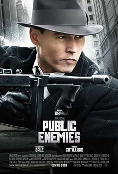 Pop Culture Graphics Public Enemies Poster B 27x40 Johnny Depp Christian Bale Billy Crudup