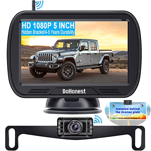 Wireless Backup Camera for Trucks with 5''...