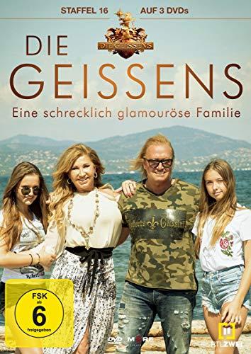 Die Geissens - Eine schrecklich glamouröse Familie: Staffel 16 (3 DVDs)