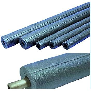 Tubo de aislamiento de tuber/ías tubo rojo y azul con espuma para calorifugado de tuber/ías varios tama/ños y colores