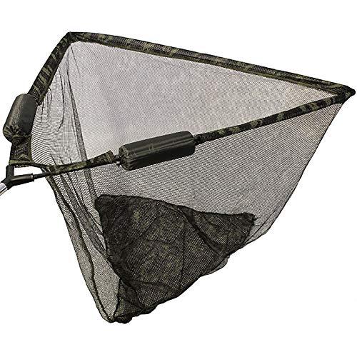 G8DS Camouflage 42-Zoll-Karpfen Kescher, Breite 107 cm x Tiefe 90 cm, robust, ideal für Unterwegs, Outdoor, Freizeit, Camping, Angeln