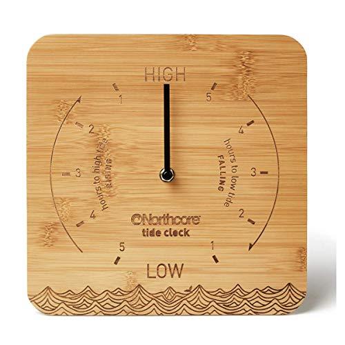 Northcore Wall Mounted Bamboo Tide Clock