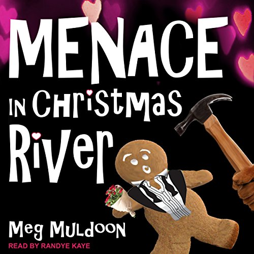 Menace in Christmas River audiobook cover art