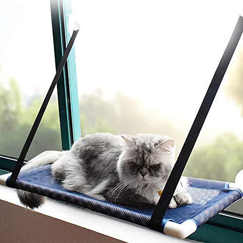 Blusea Gato Janela Perch Rede de Malha Respirável Refrescante Janela Ventosas Assento de Verão Rede para Gatos Gatos