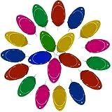 20Pcs Enhebradores de Aguja de Plástico Needle Threaders Enhebradoras de Agujas Máquina de Enhebrado de Aguja Herramientas de Costura Manual para Proyectos de Manualidades de Costura (Color al Azar)