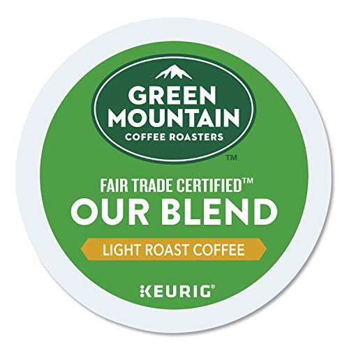 Green Mountain Coffee Roasters Our Blend, Single-Serve Keurig K-Cup Pods, Light Roast Coffee, 96 Count