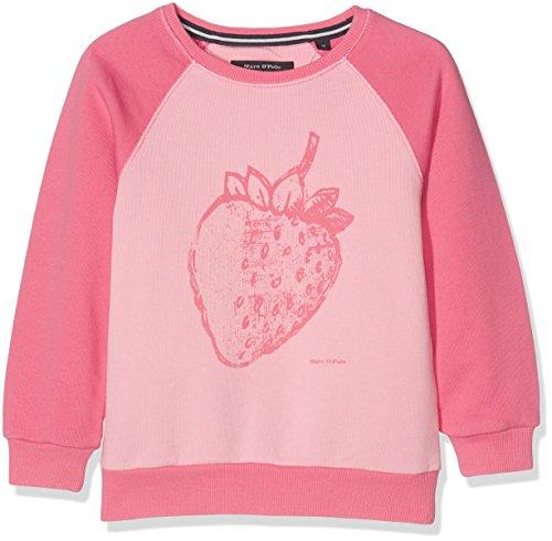 Marc O' Polo Kids Marc O' Polo Kids Mädchen 1/1 Arm Sweatshirt, Rosa (Fruit Dove 2203), 116