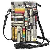 Videocassette leggere piccole borse a tracolla per telefono cellulare borsa per donne ragazze con pratico trasporto