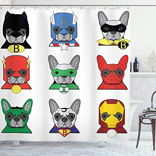 cortinas baño heroes