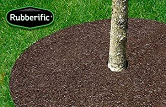 International Mulch Rubberific 36 in. Brown Tree Ring44; 3 Pack