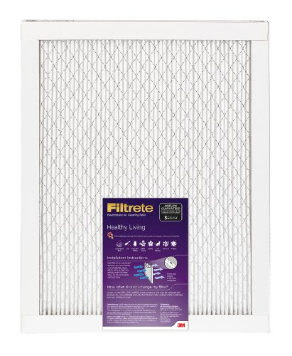 Filtrete Healthy Living Filter, 20 x 20 x 1-Inches, 1-Pack