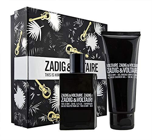 Zadig & Voltaire This is Him Geschenkset 50ml Eau de Toilette Spray & 100ml Duschgel