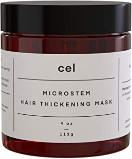 Cel MD Microstem Hair Thickening Mask | Deep Conditioning Hair Masks for Dry Damaged Hair | Stem Cell Technology - Panax Ginseng, Argan Oil, Biotin