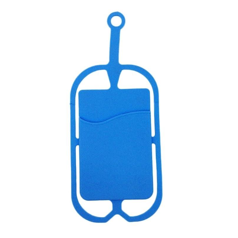 杭アンカーマットレスJicorzo - ロープ環境に優しいユニバーサルシリコーン電話ケースカードカバーバス銀行IDカードケースホルダー
