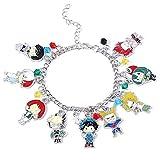 My Hero Academia Fashion Novelty Charm Bracelet Anime Manga Series Gifts