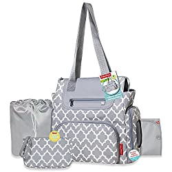 in budget affordable Fisher-Price 5-in-1 mesh diaper bag