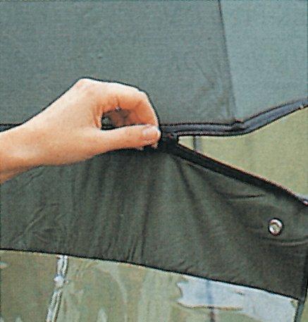 Behr Red Carp Schirmzelt inkl. Erdstäbe und TascheBogenspannweite 2,50m