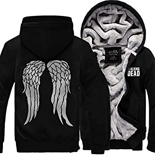 walking dead daryl wings hoodie