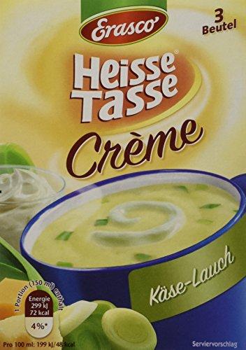 Heisse Tasse Käse-Lauch Faltschachtel á 3 Beutel á 0,15 l, 12er Pack (12 x 450 ml)