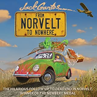 From Norvelt to Nowhere audiobook cover art