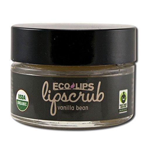 Lip Scrub Vanilla Bean ECO LIPS 0.50 oz Balm by Eco Lips
