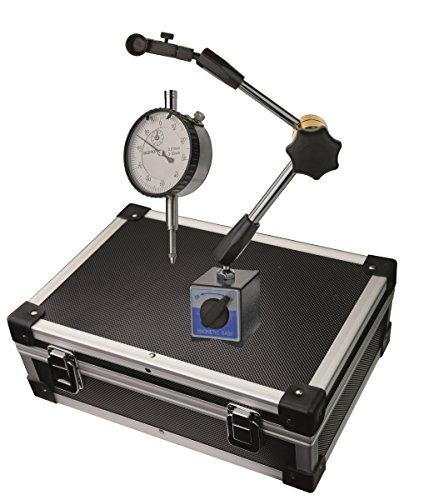 CNC QUALITÄT Magnet Messstativ und Messuhr im Satz - Länge 340 mm