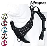 MOKCCI Truelove Soft Front Dog <span class='highlight'>Harness</span> .Best Reflective No Pull <span class='highlight'>Harness</span> with handle and 2 Leash Attachments