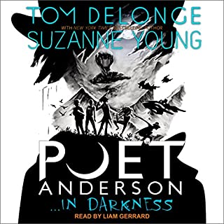 Poet Anderson ...In Darkness audiobook cover art