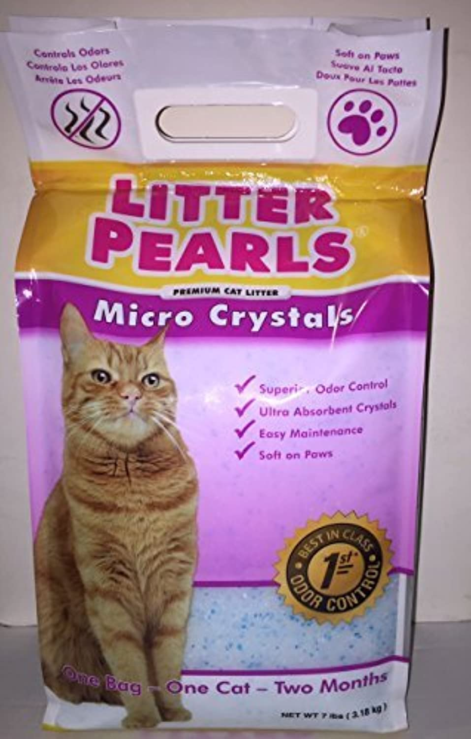 Litter Pearls Micro Crystals Cat Litter by Ultrapet