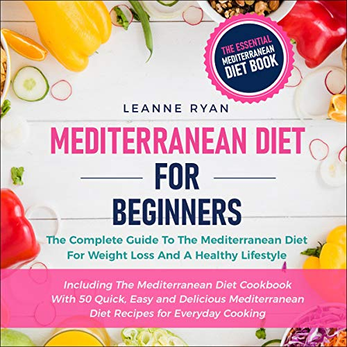 Couverture de Mediterranean Diet for Beginners