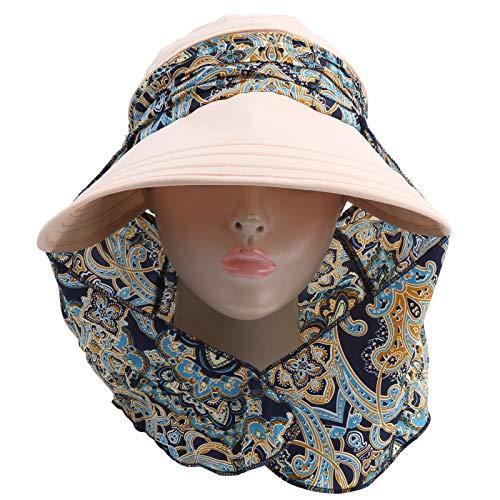 YOIM Cappello da Golf a Prova di Sole, Bellissimo Berretto da Golf Traspirante, Comodo per Le Donne e Le Ragazze(31 * 30 * 5cm-Khaki)